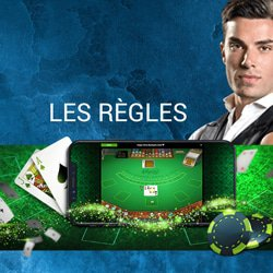 regles paiements blackjack live