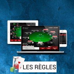 regles paiements poker live